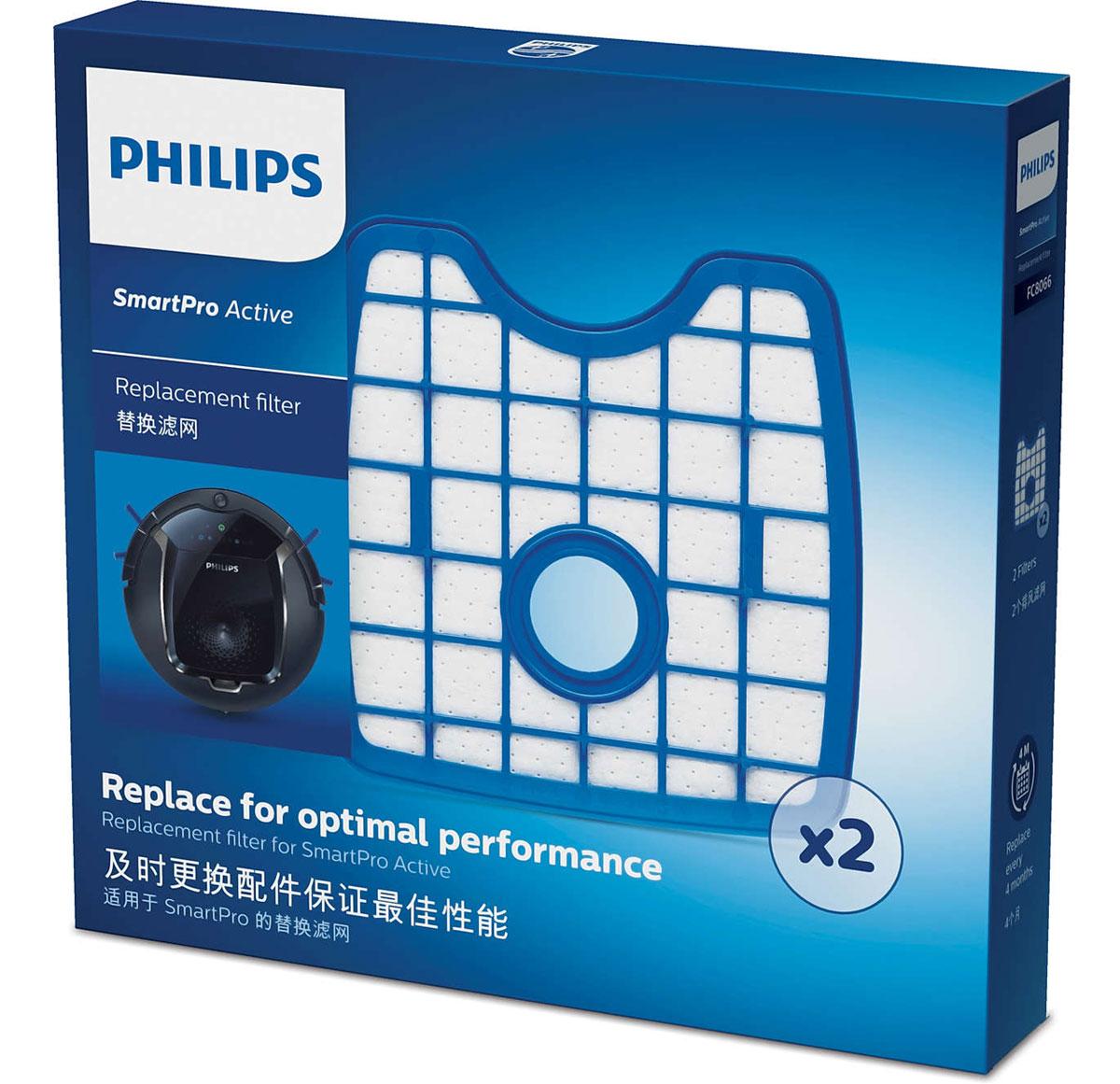 Philips FC8066/01 набор аксессуаров для робот-пылесосов SmartPro Active робот пылесос philips smartpro active fc8822