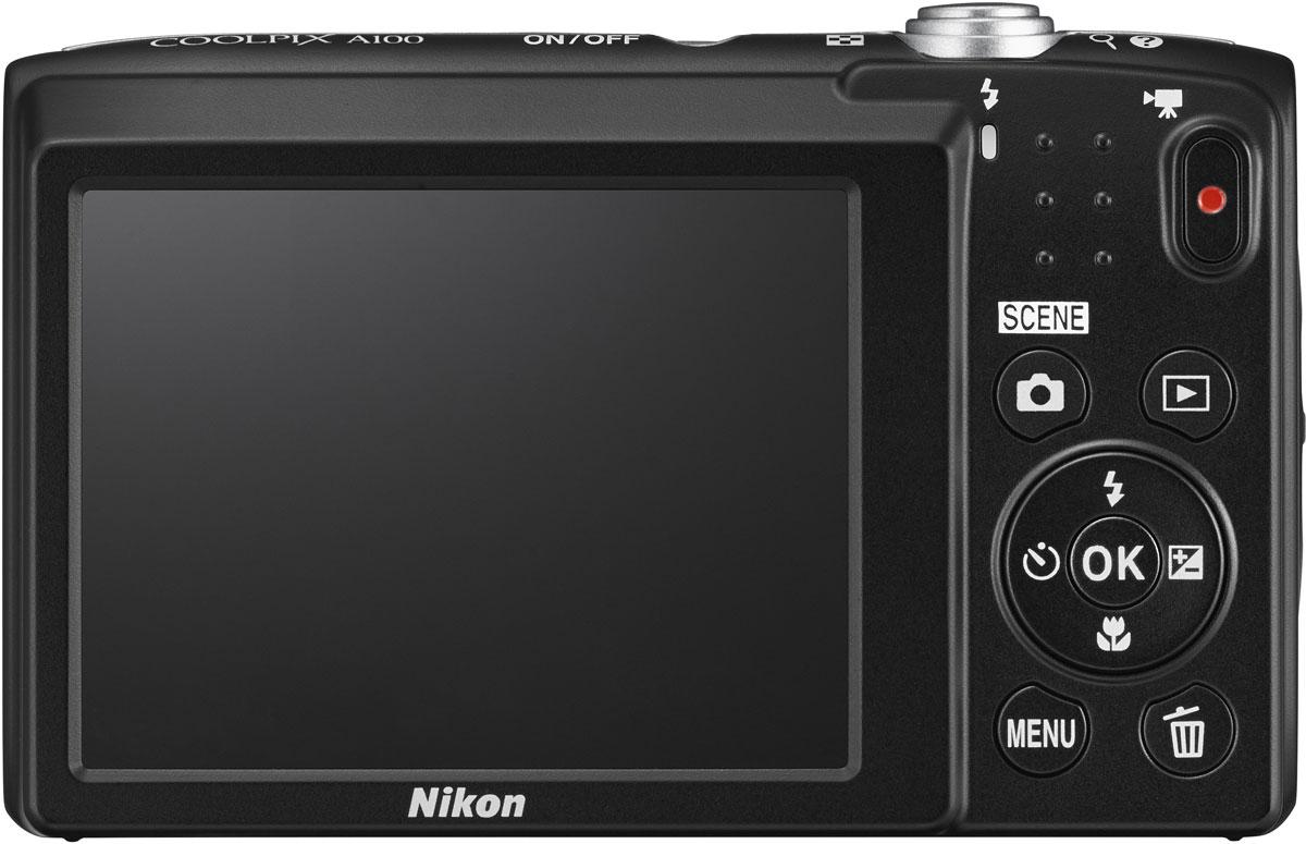 Nikon CoolPix A100, Purple Line Artцифровой фотоаппарат Nikon