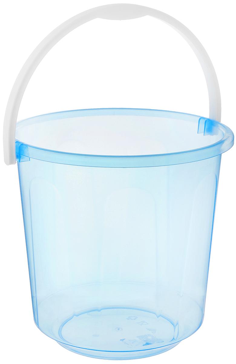 Ведро Альтернатива Хозяюшка, цвет: прозрачный, голубой, 7 лМ1205_голубойВедро Альтернатива Хозяюшка изготовлено из высококачественного пластика. Оно легче железного и не подвержено коррозии. Для удобства использования ведро оснащено пластиковой ручкой. Ведро предназначено для бытовых нужд.Диаметр ведра: 24 см.Высота стенок: 23,5 см.