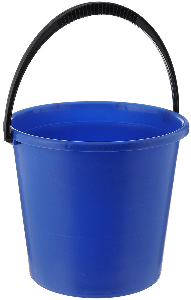 Ведро Альтернатива, цвет: синий, 7 лМ1079_синийВедро Альтернатива изготовлено из высококачественного пластика. Оно легче железного и не подвержено коррозии. Для удобства использования ведро оснащено пластиковой ручкой. Ведро предназначено для бытовых нужд.Диаметр ведра: 24 см.Высота стенок: 22 см.