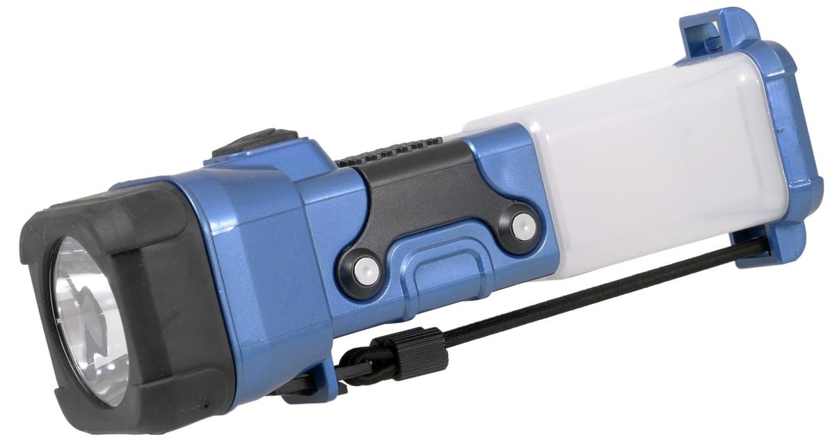 Фонарь ручной FOCUSray. FR-140Фонарь Focusray FR-140Универсальный фонарь FOCUSray предназначен для освещения предметов и местности при отсутствии иных источников света. Фонарь работает в трех режимах: 1) первое нажатие кнопки - свечение мини прожектора в три ярких светодиода; 2) второе нажатие - свечение кемпингового фонаря в шесть светодиодов; 3) третье нажатие - свечение ночника (приглушенный свет) - один желтый светодиод. В фонаре используются три алкалиновые батарейки АА (не входят в комплект). Для замены элементов питания необходимо отвернуть отражатель, вынуть контейнер и вставить в него батарейки, соблюдая полярность. Рекомендуется использовать батарейки одного вида и одного производителя. Корпус фонаря изготовлен из ударопрочного пластика. Отражатель дополнительно защищен резиновой накладкой. Удобный ремешок позволяет использовать фонарь при всех режимах свечения. Ремешок возможно крепить и вдоль корпуса фонаря для ношения, и в торцевой части фонаря для подвешивания. Длина фонаря составляет 20,5 см. Длительность службы светодиодов 100000 часов непрерывного свечения.Количество диодов: 10.Дальность свечения: 30 м.