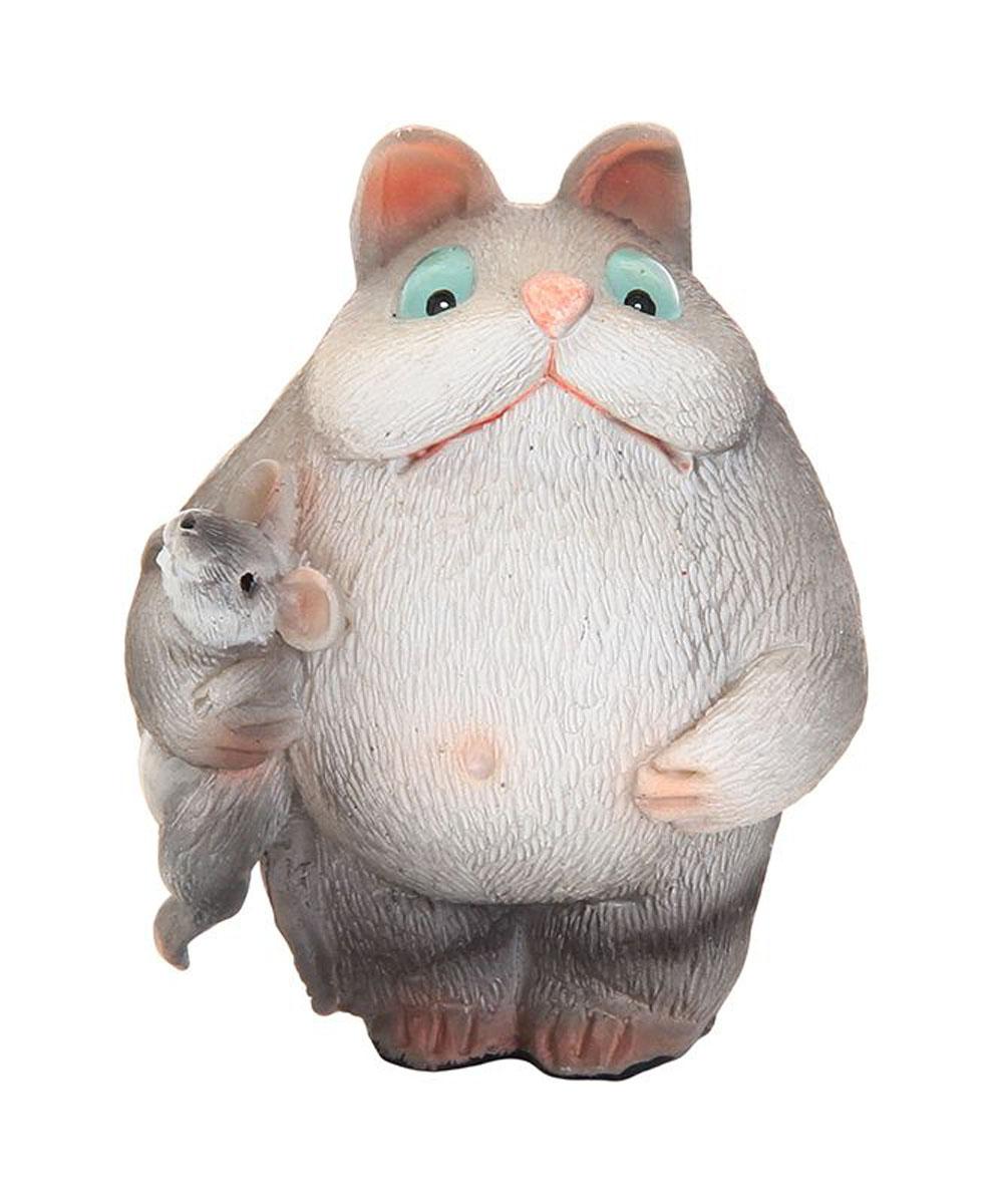 Фигурка декоративная Elan Gallery Мышка в подмышке, высота 6 см фигурки elan gallery фигурка декоративная кот почтальон