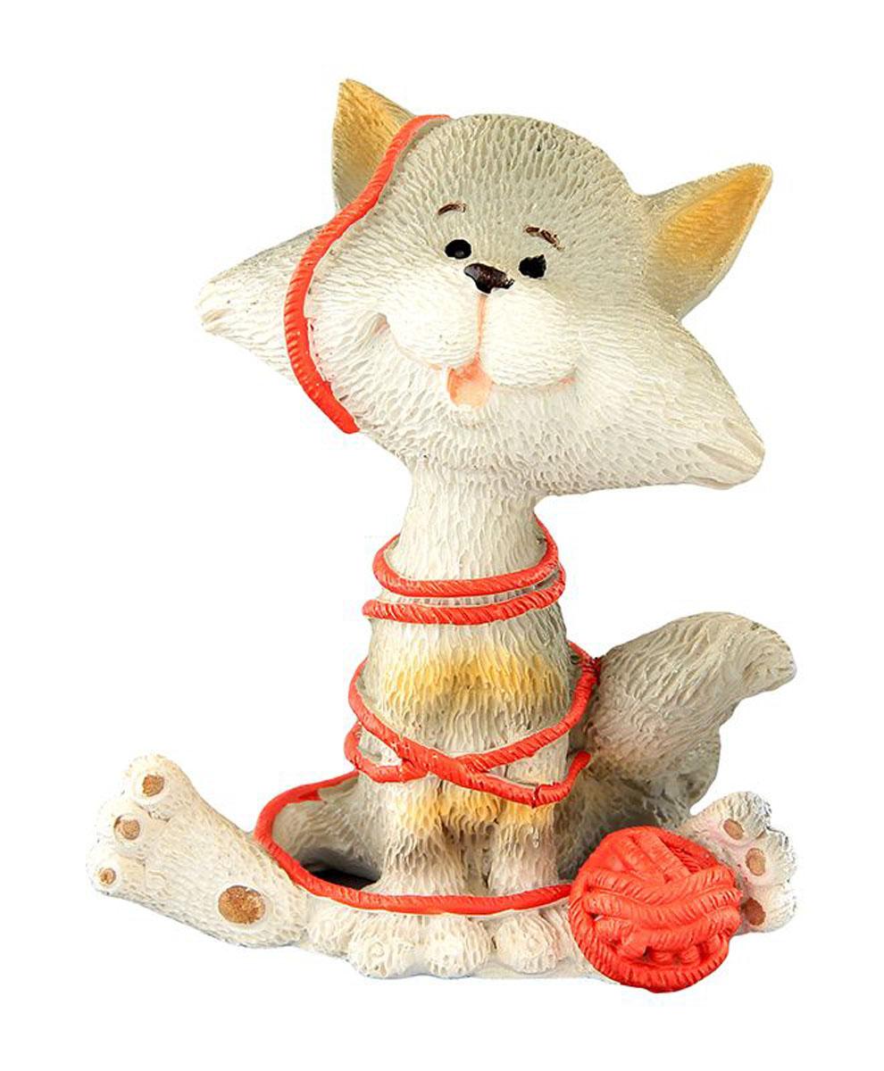 Фигурка декоративная Elan Gallery Кот-баловник, высота 8 см фигурки elan gallery фигурка декоративная кот с виолончелью