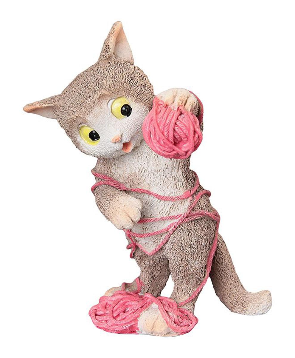 Фигурка декоративная Elan Gallery Кот-озорник, высота 11 см фигурки elan gallery фигурка декоративная кот с виолончелью