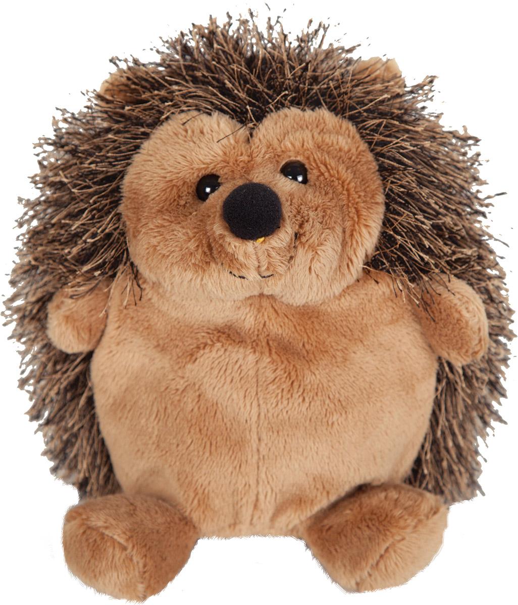 Gulliver Мягкая игрушка Ёжик цвет коричневый 15 см