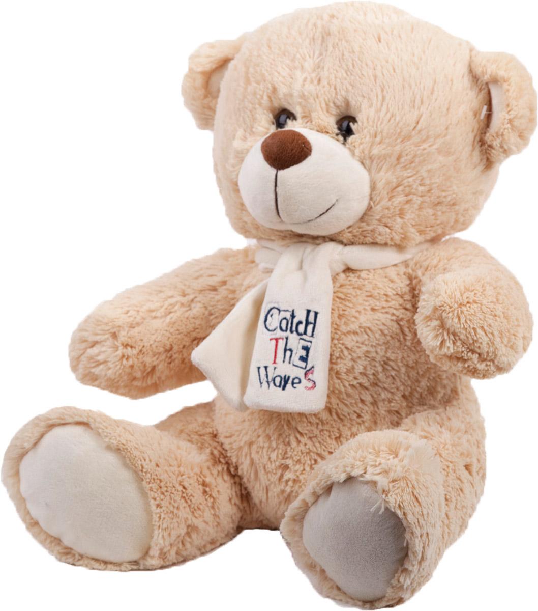 Button Blue Мягкая игрушка Медведь Тишка с шарфиком 40 см button blue мягкая игрушка крутой бургер 20 см