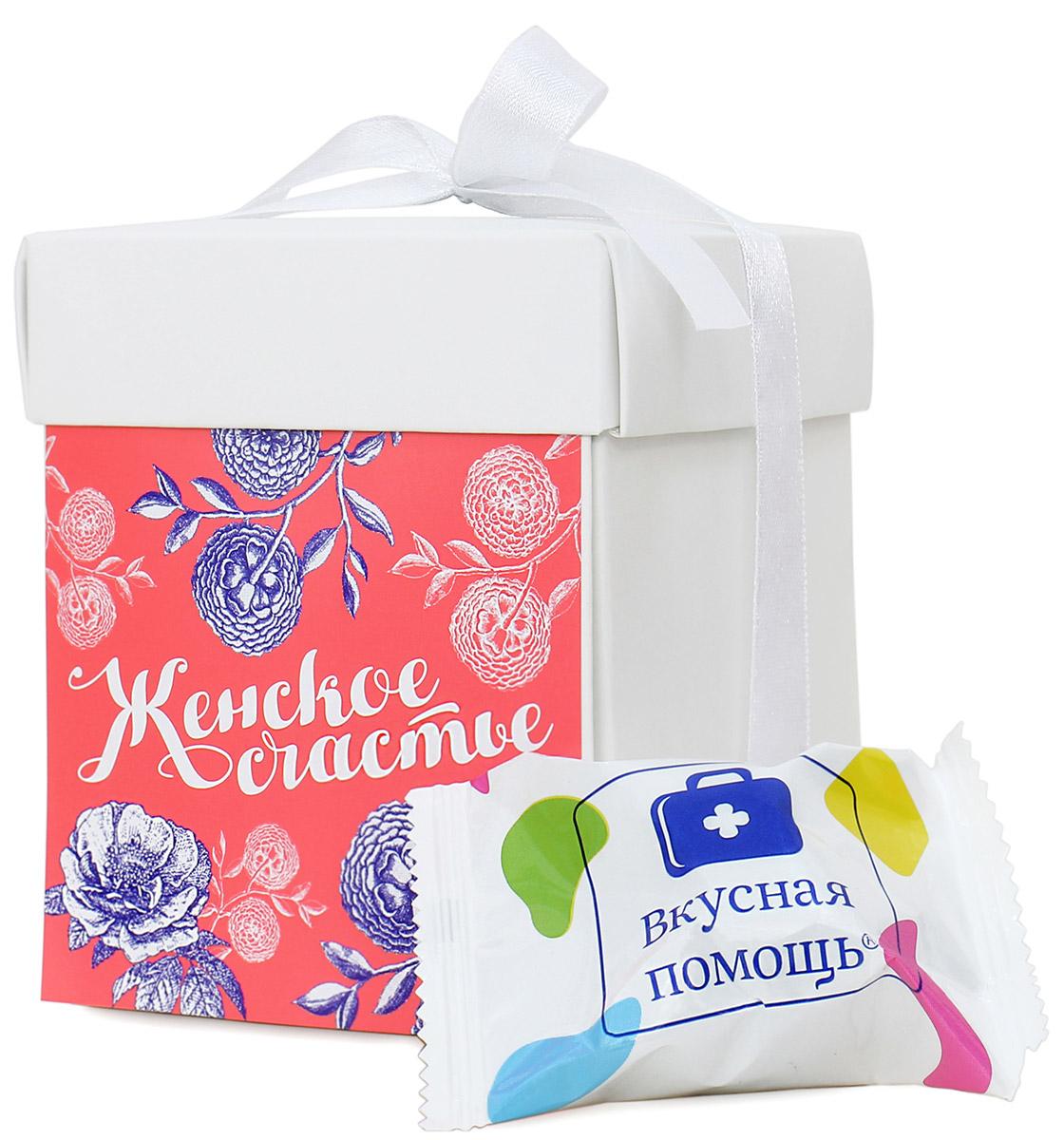 Вкусная помощь Женское счастье конфеты, 125 г00-00000263Сладкий подарок для девушек всегда был приятным. Даже если они не едят конфеты, то в тайне о них мечтают.Новый яркий дизайн упаковки порадует представительниц прекрасного пола - нежный и по-девичьи трогательный. Внутри - шоколадные конфеты Мадлен со вкусом сливок и орехом. Глазированные кондитерской глазурью и обсыпанные жареным дробленым арахисом конфеты со сливочно-ореховой начинкой придутся по душе всем любительницам сладостей. Дарите своим девушкам сладкие подарки и укрепляйте отношения. Еще такая коробочка отлично подойдет в качестве подарка вашим сотрудницам в офисе.