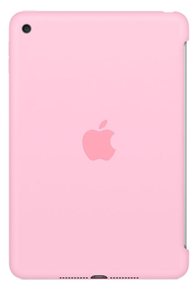 Apple Silicone Case чехол для iPad mini 4, Light PinkMM3L2ZM/AСиликоновый чехол защищает заднюю поверхность iPad mini 4 и идеально совместим со Smart Cover, чтобы ваше устройство было в безопасности с обеих сторон. Чехол с гладкой силиконовой поверхностью очень приятен на ощупь и надёжно оберегает iPad mini 4, сохраняя его корпус таким же тонким и изящным.
