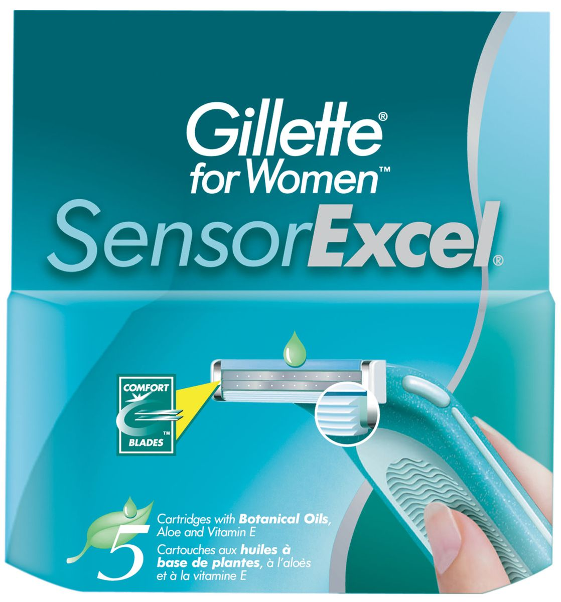 Gillette Sensor Excel Cменные кассеты для бритья , 5 шт. tcrt5000 reflective infrared sensor photoelectric switches 10 pcs