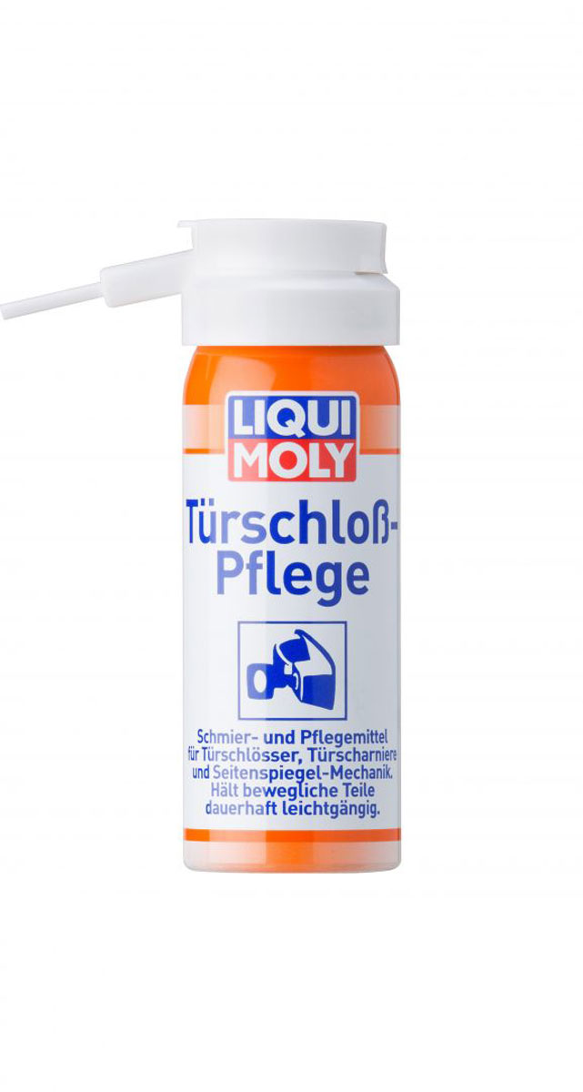 Смазка для цилиндров замков Liqui Moly Turschloss-Pflege LiquiMoly, 50 мл грязеотталкивающая белая смазка liqui moly 400 мл