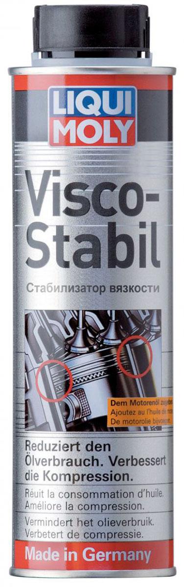 Стабилизатор вязкости LiquiMoly Visco-Stabil, 0,3 л1996Восстанавливает вязкость моторного масла. Способствует снижению расхода масла, устраняет дымление и повышает компрессию. Рекомендуется для автомобилей с большим пробегом.