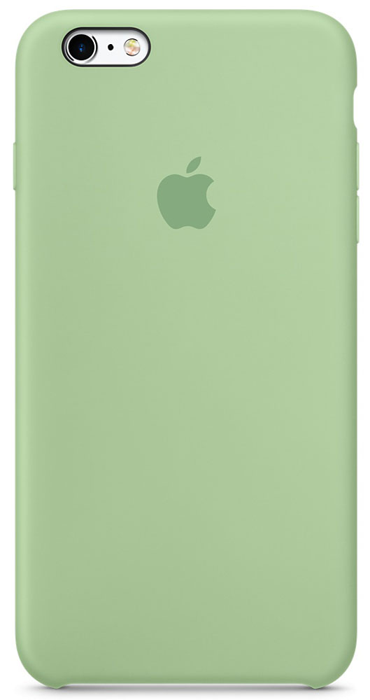 Apple Silicone Case чехол для iPhone 6 Plus/6s Plus, Mint чехол apple silicone case для iphone 6s plus