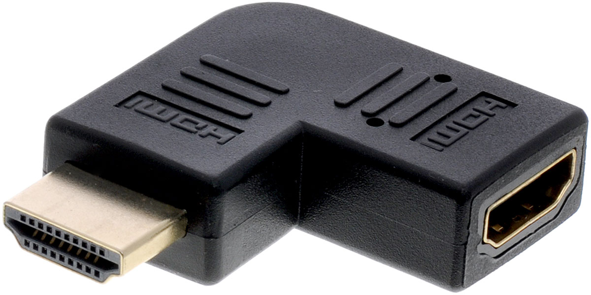 Greenconnect GC-CV306, Black адаптер-переходник HDMIGC-CV306Адаптер-переходник Greenconnect GC-CV306 с левым углом дает вам гибкость, необходимую кабелю при подключении в труднодоступных местах. Также этот HDMI адаптер помогает устранить возможные повреждения портов при подключении HDMI на телевизоре и других устройствах из-за изгиба кабеля.