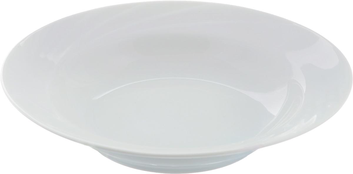 Тарелка глубокая Голубка. Белье, 230 мл, диаметр 20 см1303840Глубокая тарелка Голубка. Белье выполнена извысококачественного фарфора. Онапрекрасновпишется винтерьер вашей кухни и станет достойным дополнениемк кухонному инвентарю.Тарелка Голубка. Белье подчеркнет прекрасный вкус хозяйкии станет отличным подарком.Объем: 230 мл