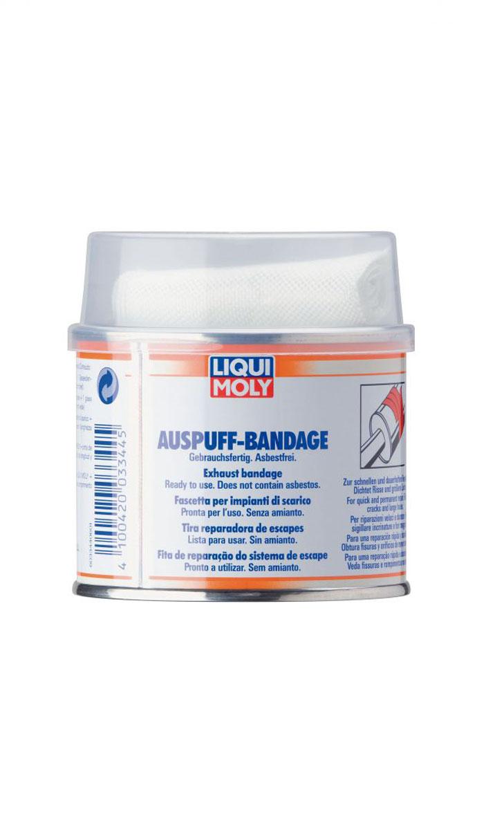 Бандаж для ремонта системы выхлопа LiquiMoly Auspuff-Bandage gebrauchsfertig, 0,2 л3344Бандаж применяется для экономичного временного ремонта системы выхлопа. Герметизирует большие повреждения и трещины, являясь газонепроницаемым.