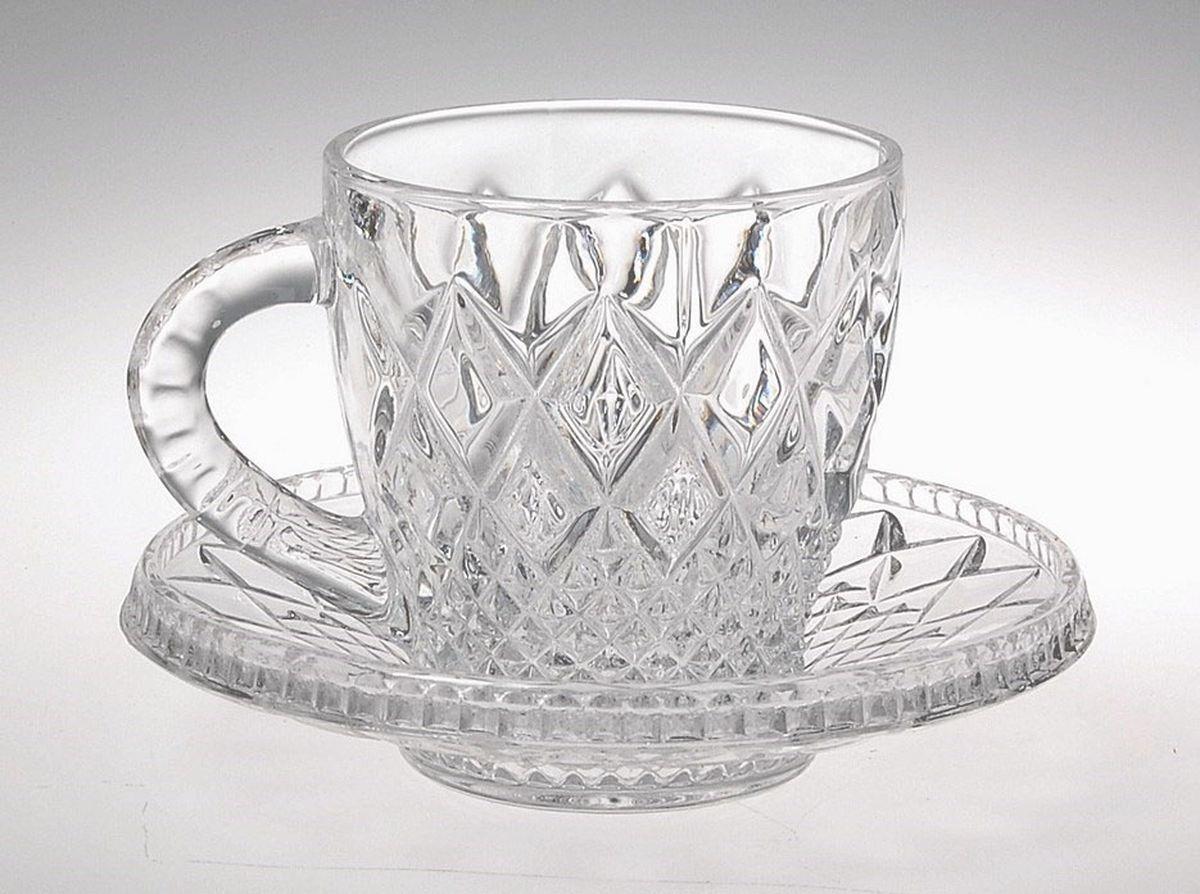 Набор для кофе Crystal Bohemia Mokko, 4 предмета930/99999/9/06600/009-409Набор Crystal Bohemia состоит из 2 чашек и 2 блюдец, которые отлично подойдут для кофе. Изделия выполнены из прочного высококачественного хрусталя. Они излучают приятный блеск и издают мелодичный звон. Набор для кофе Crystal Bohemia не только украсит дом и подчеркнет ваш прекрасный вкус, но и станет отличным подарком.Диаметр блюдца: 12,5 см.Объем кружки: 150 мл.
