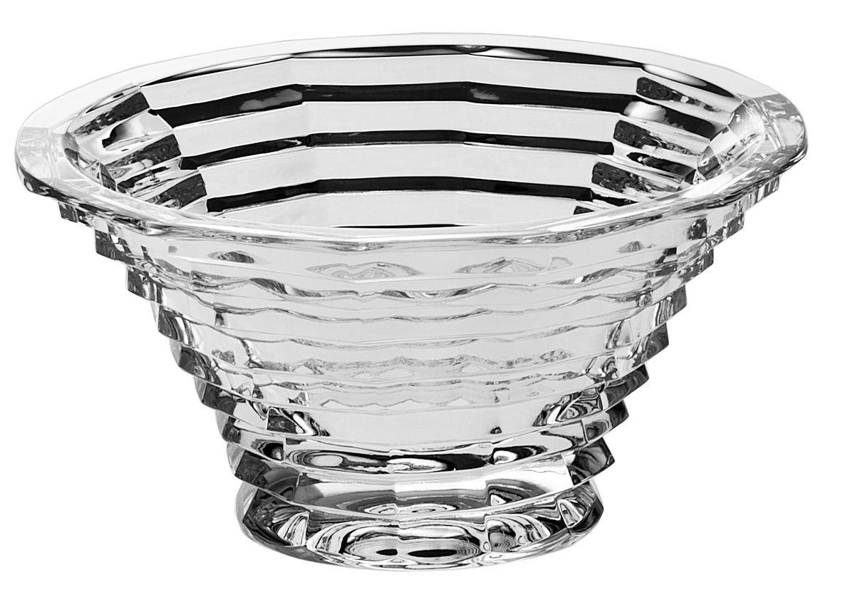 Салатник Crystal Bohemia, диаметр 16 см салатник nina glass ажур цвет сиреневый диаметр 16 см