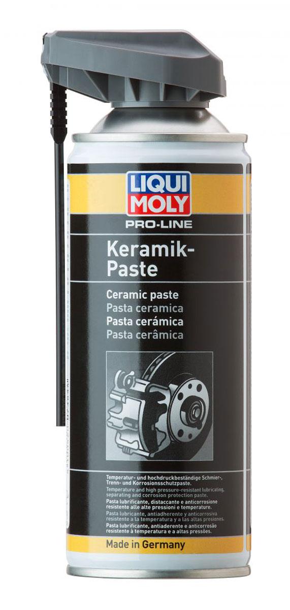 Паста керамическая LiquiMoly Pro-Line Keramik-Paste , 0,4 л присадка liqui moly benzin system pflege для ухода за бензиновой системой впрыска 0 3 л