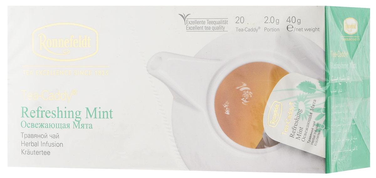 Ronnefeldt Освежающая мята травяной чай в пакетиках для чайника, 20 шт печенье glico cratz 50g