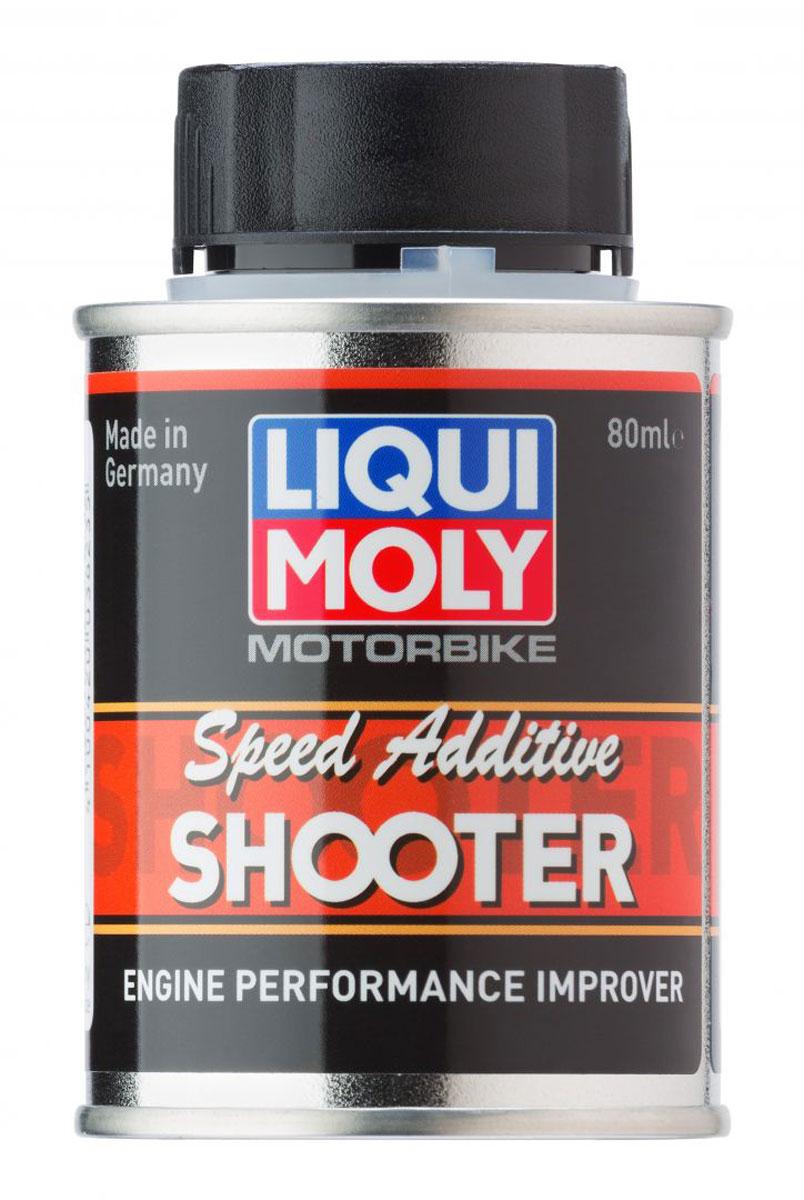 Присадка Liqui Moly Motorbike Speed Additiv Shooter, в бензин, 80 мл20589Присадка Liqui Moly Motorbike Speed Additiv Shooter добавляется в бензин, очищает, защищает и модифицирует процесс сгорания топлива, делает сгорание более полным при режимах частичной нагрузки, что улучшает разгонную динамику мотоциклов.Особенности:Хорошая антикоррозийная защита.Дружественен к экологии.Для карбюраторных и инжекторных систем.Удаляет отложения.Оптимизирует мощность двигателя.Нормализует расход топлива и показатели выхлопных газов.Экономичен Повышает надежность эксплуатации.База: комбинация присадок в жидкости-носителе.Товар сертифицирован.