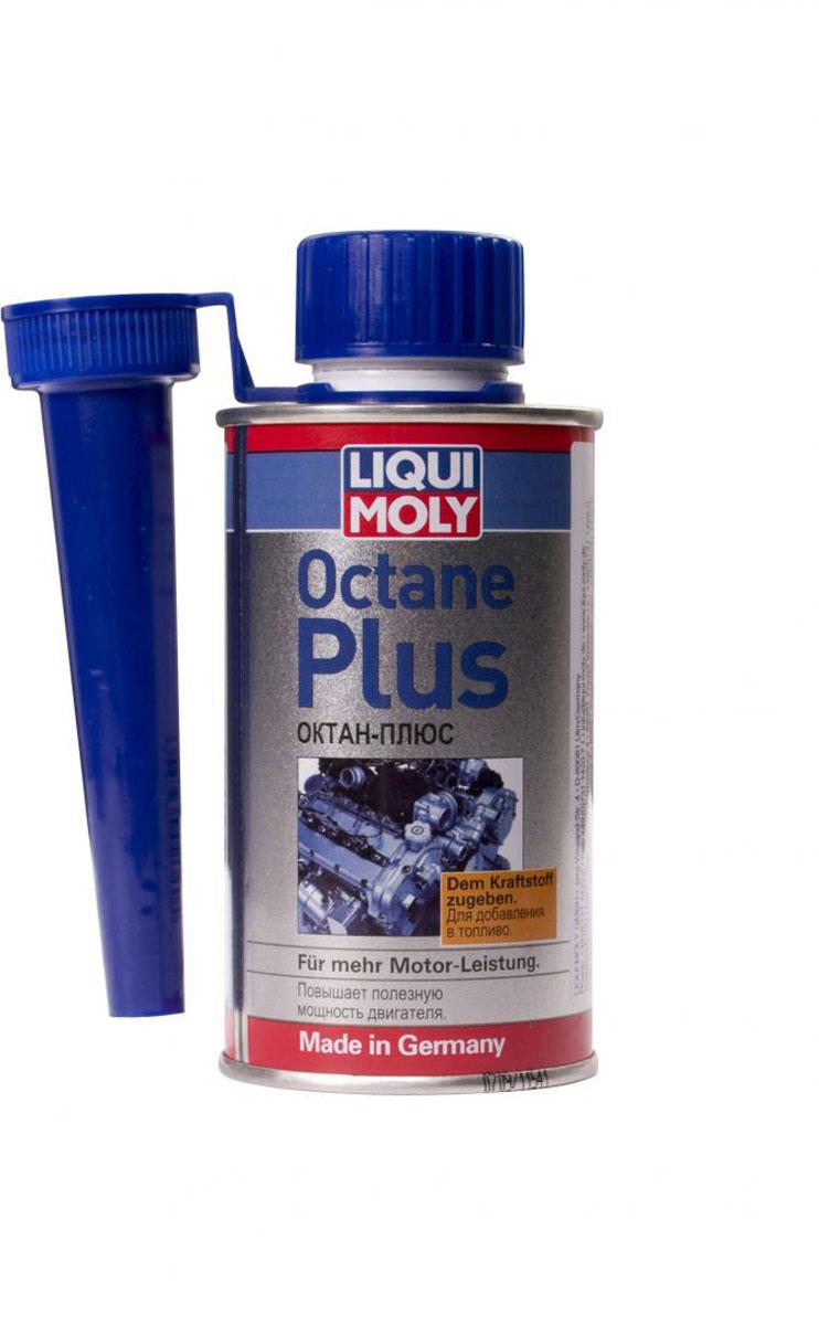 Присадка Liqui Moly Octane Plus, для увеличения октанового числа бензина, 150 мл стабилизатор бензина liqui moly benzin stabilisator 0 25 л
