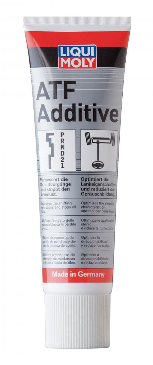 Присадка Liqui Moly ATF Additive, в АКПП, 0,25 л присадка liqui moly benzin system pflege для ухода за бензиновой системой впрыска 0 3 л