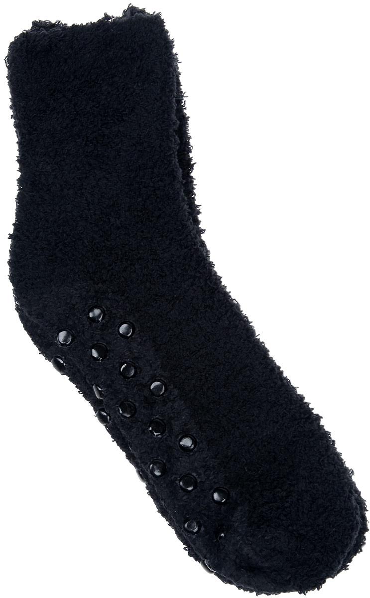 Носки женские Alla Buone, цвет: черный. CD023. Размер универсальныйCD023Удобные и очень мягкие носки Alla Buone, изготовленные из эластичного полиэстера, очень приятные на ощупь, позволяют коже дышать. Эластичная резинка не сдавливает ногу, обеспечивая комфорт и удобство. Подошва изделия снабжена силиконовыми наклейками против скольжения по полу.