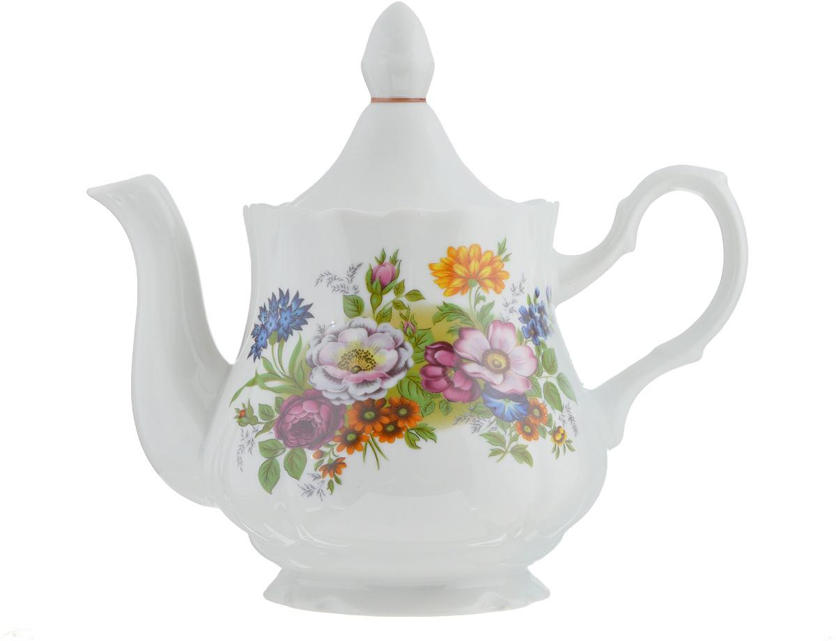 Чайник заварочный Романс. Букет цветов, 800 мл чайник романс глория 1 75 л