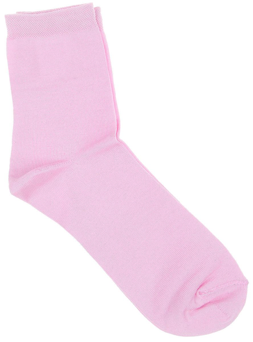 Носки женские Alla Buone, цвет: розовый. CD003. Размер 23 (35-37)003CDУдобные носки Alla Buone, изготовленные из бамбука с добавлением полиэстера, очень мягкие и приятные на ощупь, позволяют коже дышать. Эластичная резинка плотно облегает ногу, не сдавливая ее, обеспечивая комфорт и удобство. Носки с классическим паголенком. Практичные и комфортные носки великолепно подойдут к любой вашей обуви.