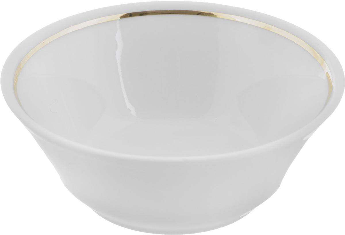 Салатник Белье, 200 мл. 507831507831Элегантный салатник Белье, изготовленный из высококачественного фарфора, прекрасно подойдет для подачи различных блюд: закусок, салатов или фруктов. Такой салатник украсит ваш праздничный или обеденный стол, а оригинальное исполнение понравится любой хозяйке.