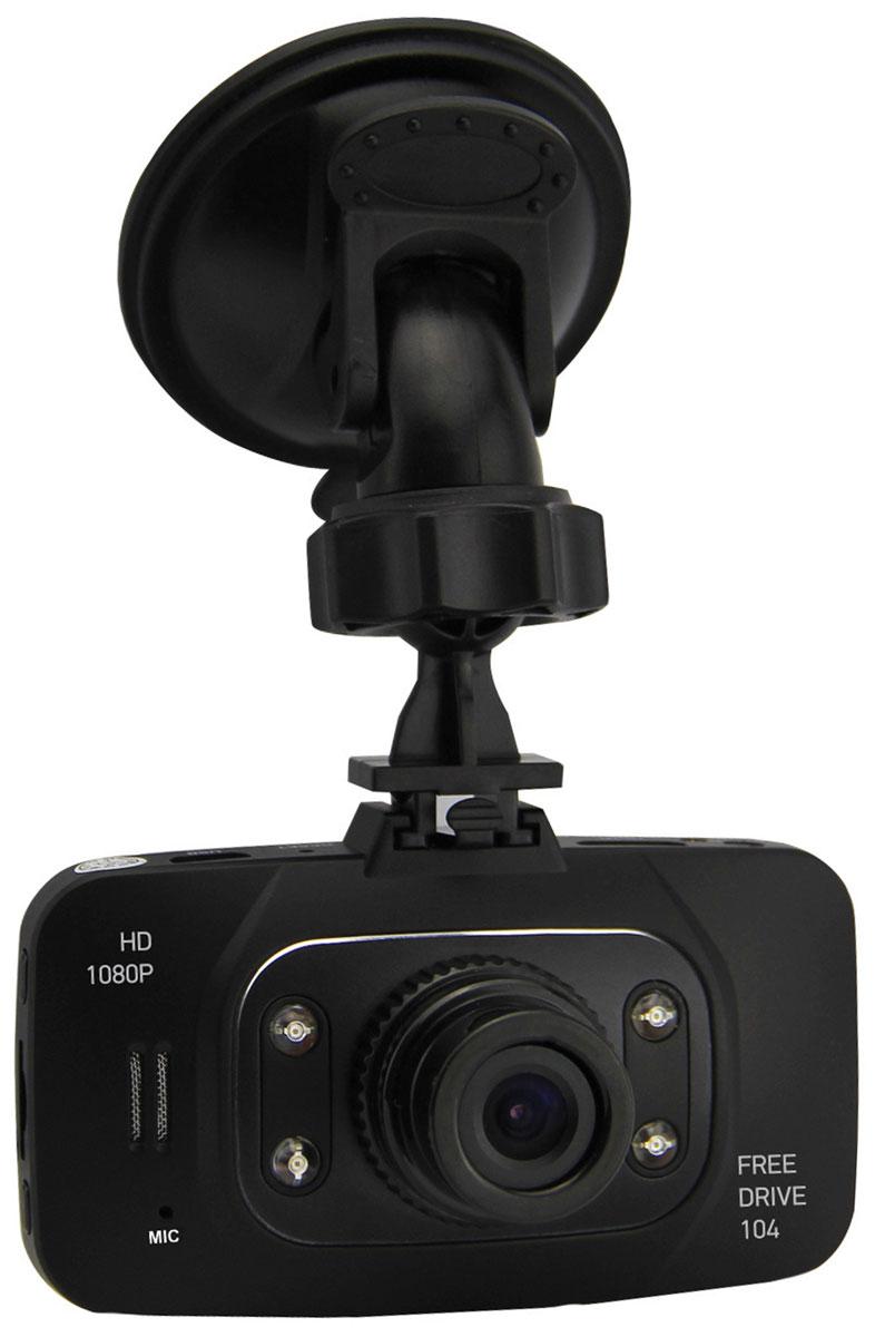 Digma FreeDrive 104, Black видеорегистратор FD104