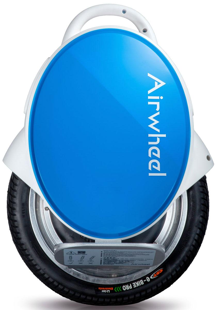 Airwheel Q5, White Blue двухколесный гироцикл (батарея Sony 260 Вт/ч) - Электротранспорт