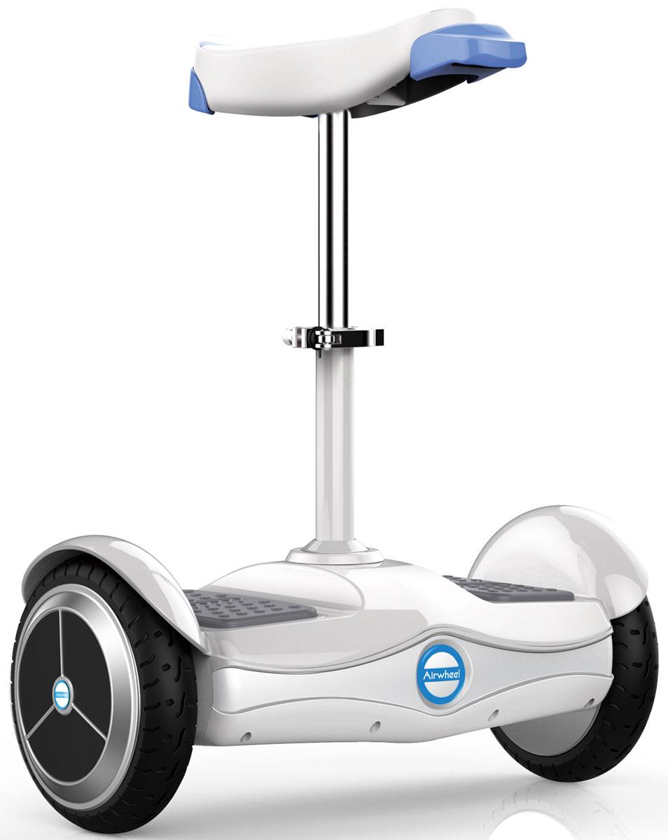 Airwheel S6, White двухколесный гироцикл с сиденьем (батарея LG 260 Вт/ч)AIRWHEEL S6-260WHДвухколесный гироскутер с сидением и колесами диаметром 8 дюймов.Высокоэффективная батареяДистанционное управлениеПриложение для смартфонаРегулируемая высота сиденияBluetooth260WHМатериал корпуса: Металл; Пластик