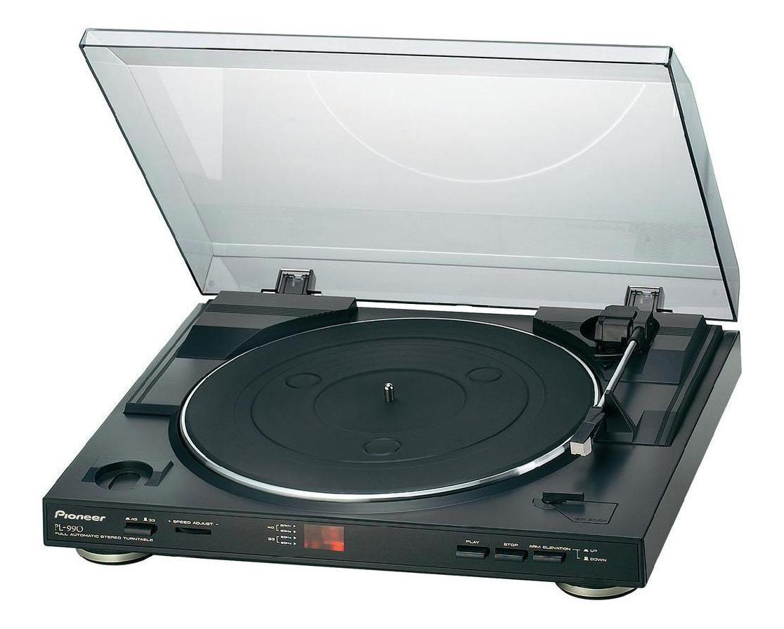 Pioneer PL-990 проигрыватель виниловых дисков комплект белья letto народные узоры 1 5 спальный наволочки 70х70 цвет красный белый бордовый