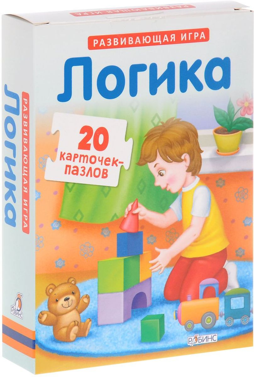 Робинс Пазлы Логика step by step kids sport h 102881
