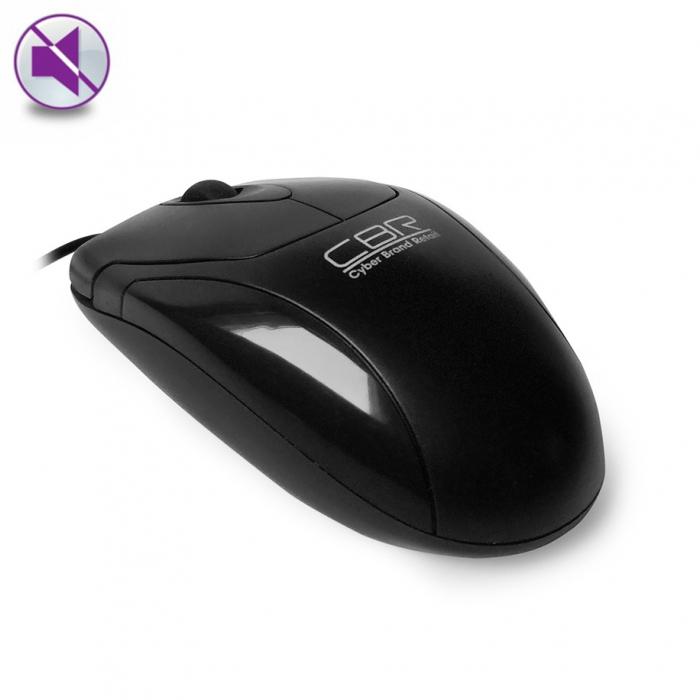 CBR CM 302, Black мышьCM 302 BlackРазумное соотношение цены и качества демонстрирует модель CBR CM 302. Это мышь воплощает в себе лучшие рабочие качества – полноразмерный корпус, бесшумные кнопки и нейтральный дизайн.Корпус мыши выполнен из матового пластика с глянцевыми вставками. Благодаря шершавой поверхности при долгой работе ладонь плотно прилегает к корпусу и практически не напрягается.А элегантные глянцевые вставки делают эту модель не только функциональной, но и красивой.Бесшумные кнопки и колесо прокрутки станут незаменимыми при ненормированном рабочем дне и помогут минимизировать чум от работы, это достигается с помощью технологии Silent click. Модель не перегружена дополнительными функциями и идеально подойдет для выполнения базовых операций. Для модели СМ 302 характерно точное и плавное перемещение курсора, благодаря использованию высокоточной оптической технологии отслеживания и разрешению 1200 точек на дюйм.