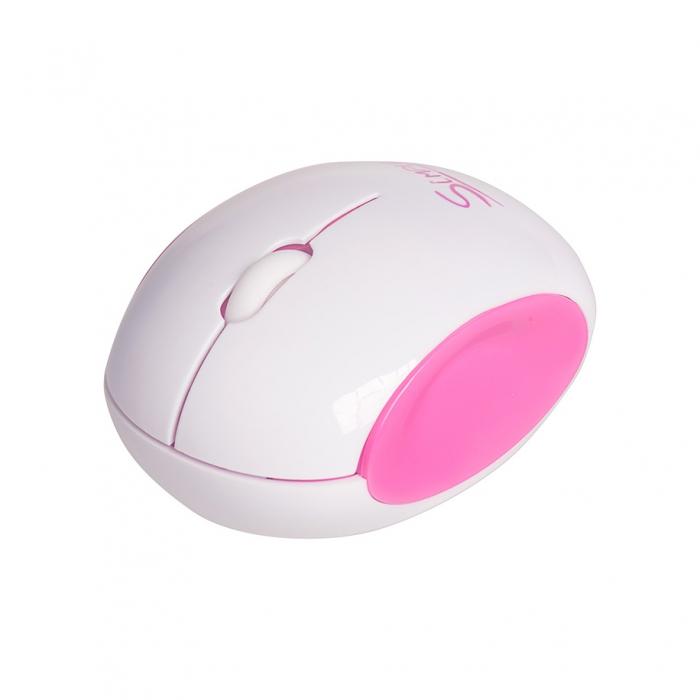 CBR Simple S14, Pink мышьS14 PinkГлавным достоинством CBR Simple S14 является ее дизайн. Эргономичный корпус округлой формы легко ложится в руку, боковые вогнутые вставки созданы специально, чтобы пальцам было удобно. Мышь симметричная и потому подходит для правшей и левшей.CBR Simple S14 представлена в трех цветовых решениях: бело-голубом, бело-зеленом и бело-розовом. Эти сочетания выбраны не случайно, они отражают характер самой марки Simple - легкий и позитивный. Комбинированная упаковка из премиум-картона и прозрачного пластика не только демонстрирует все преимущества продукта, но и вполне заменит подарочную.