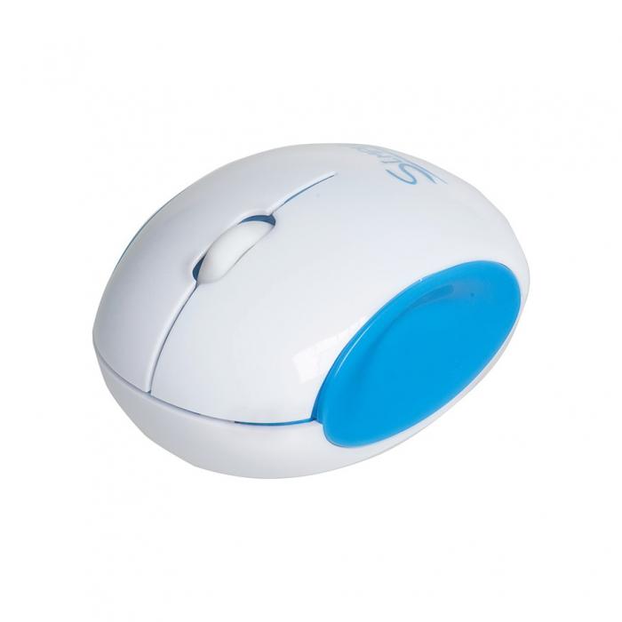 CBR Simple S14, Blue мышьS14 BlueГлавным достоинством CBR Simple S14 является ее дизайн. Эргономичный корпус округлой формы легко ложится в руку, боковые вогнутые вставки созданы специально, чтобы пальцам было удобно. Мышь симметричная и потому подходит для правшей и левшей.CBR Simple S14 представлена в трех цветовых решениях: бело-голубом, бело-зеленом и бело-розовом. Эти сочетания выбраны не случайно, они отражают характер самой марки Simple - легкий и позитивный. Комбинированная упаковка из премиум-картона и прозрачного пластика не только демонстрирует все преимущества продукта, но и вполне заменит подарочную.