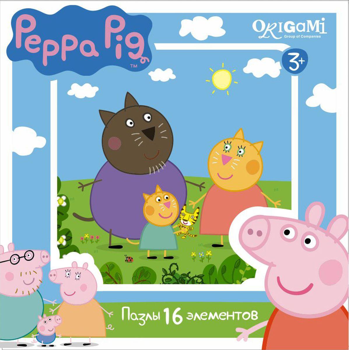 Оригами Пазл для малышей Peppa Pig 01578