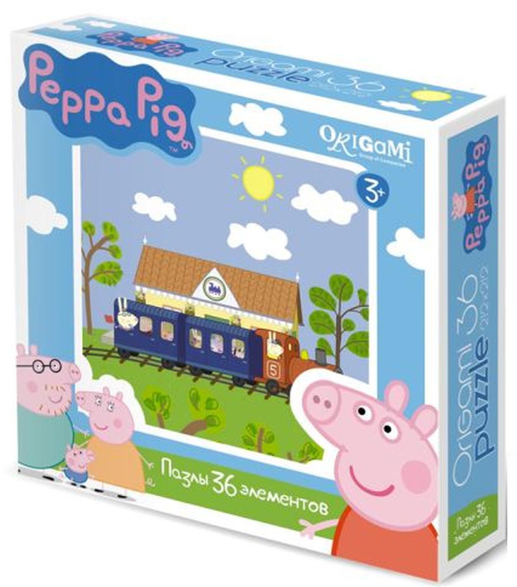Оригами Пазл для малышей Peppa Pig 01551 оригами для мальчика