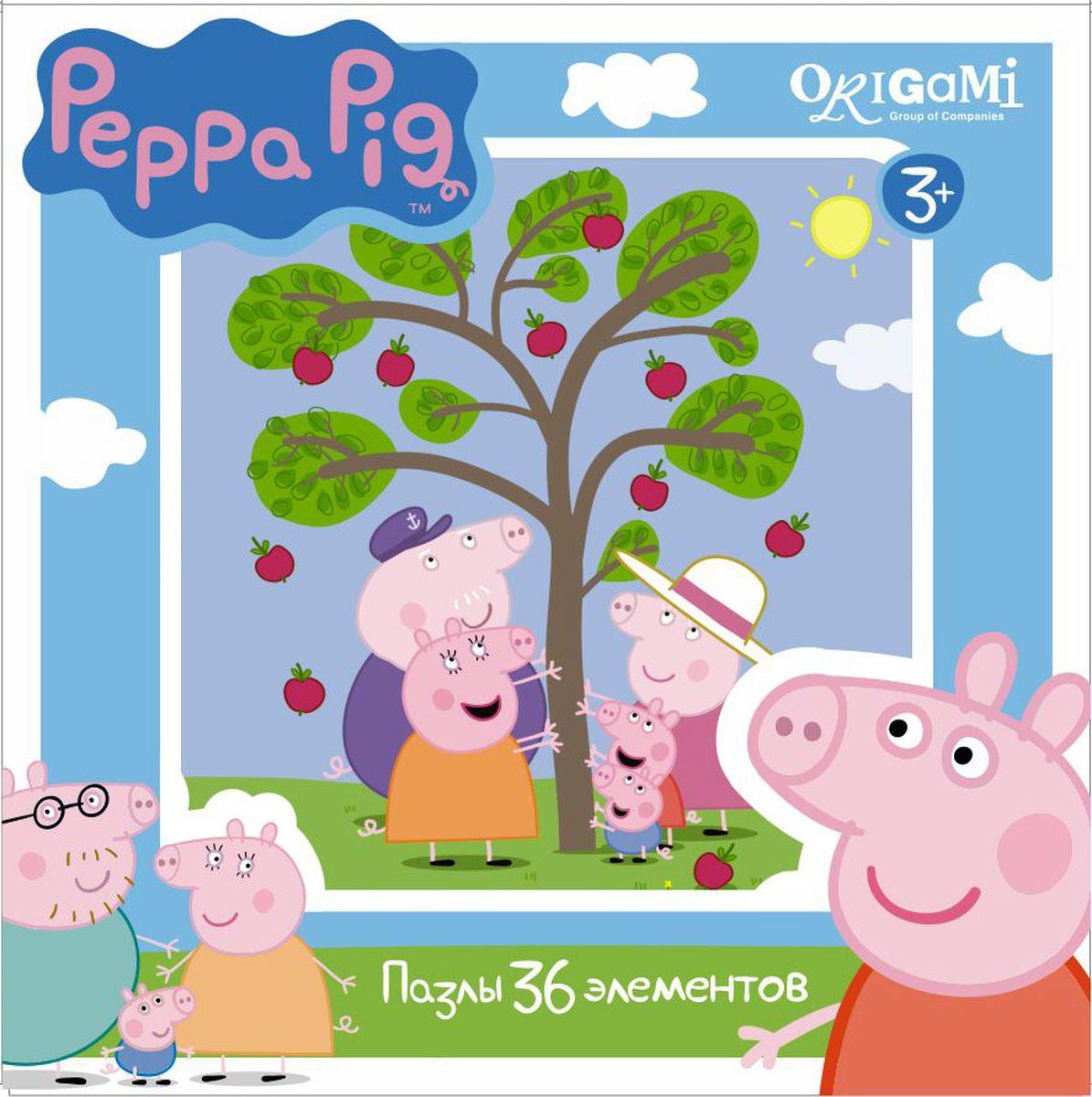 Оригами Пазл для малышей Peppa Pig 01550 janod пазл для малышей поиск сокровищ 36 элементов
