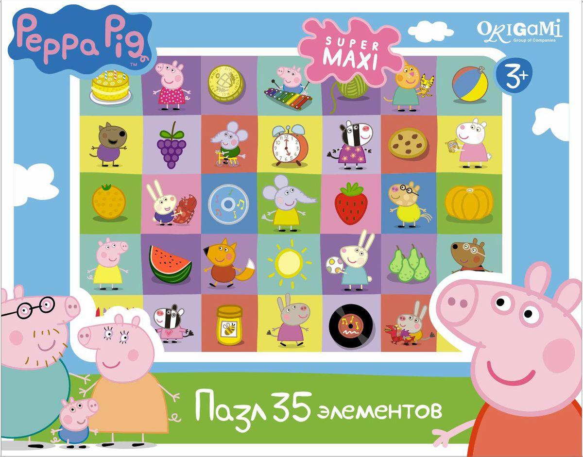 Оригами Пазл для малышей Peppa Pig Герои и предметы peppa pig пазл супер макси 24a контурный магниты подставки семья кроликов