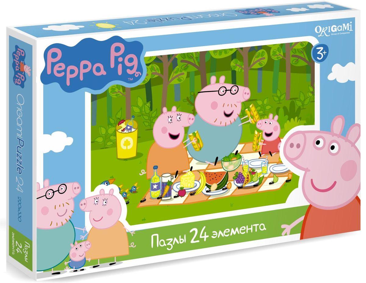 Оригами Пазл для малышей Peppa Pig 01571 пазлы peppa pig пазл 36a
