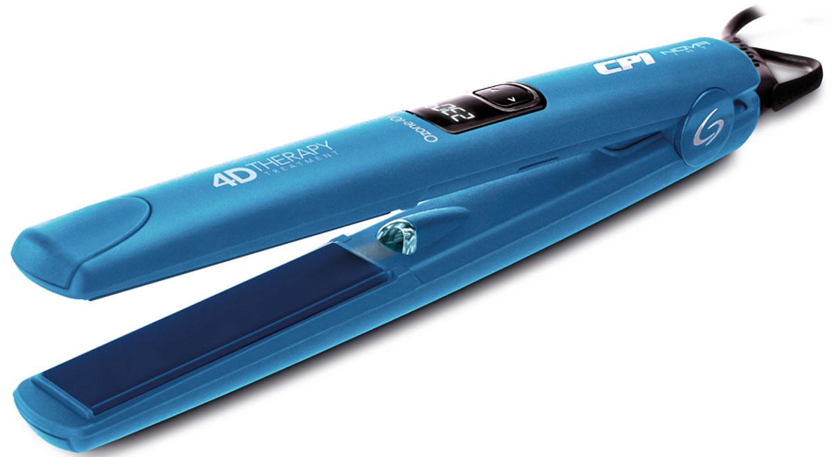 GA.MA CP1 Nova Digital 4D Therapy Ozone (P21.CP1NOVADION.4D) щипцы-выпрямительP21.CP1NOVADION.4DВыпрямитель волос Ga.Ma Nova Dgt Iht 4D сочетает в себе технологию ION PLUS, нейтрализующую статическое электричество, с действием технологии Ozone 3. Технология Ozone 3 помогает устранить жир и загрязнения, которые могут закупоривать поры, и улучшить их обеспечение кислородом. Турмалиновое покрытие пластин способствует сохранению здоровья и блеску волос. Объединенное воздействие этих технологий придает волосам силу и восстановление от корней до кончиков, благодаря восстанавливающему эффекту. Плавающие пластины, которые, подстраиваясь под толщину пряди, позволяют равномерно прогреть все волосы и распрямить их за одно проведение. Еще один важный фактор для максимального ухода и защиты волосам - регулируемая температура от 160°C до 230°C, что позволяет устанавливать наиболее подходящий уровень нагрева. Благодаря технологии IHT нужная температура достигается за рекордные 5-10 секунд, сохраняется постоянной во время укладки и равномерно распределяется по всей поверхности пластин.
