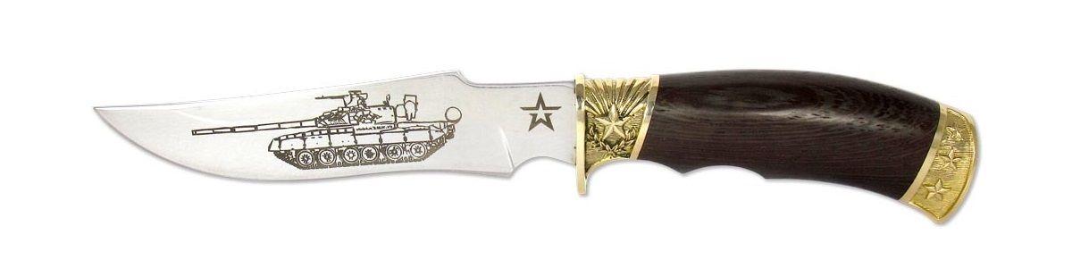 Нож охотничий Ножемир Армейский, длина клинка 14,8 см. (1867)к нож складной ножемир юнкер общая длина 20 см с ножнами c 136