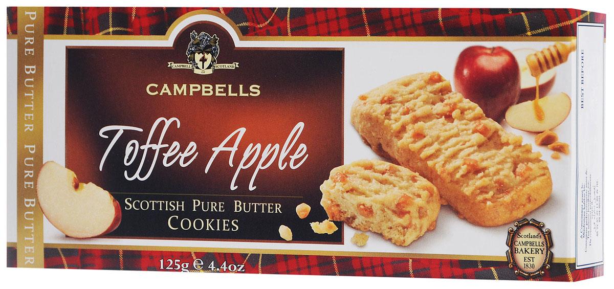 Campbells Pure Butter печенье песочное с кусочками яблочка и карамели, 125 г лукашинские лимоны с имбирем 450 г