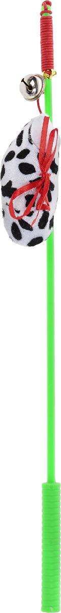 Дразнилка-удочка для кошек V.I.Pet Ботинок, с колокольчиком, цвет: зеленый, белый, черныйST-106_зеленый,белыйДразнилка-удочка для кошек V.I.Pet Ботинок, изготовленная из текстиля и пластика, прекрасно подойдет для веселых игр вашего пушистого любимца. Играя с этой забавной дразнилкой, маленькие котята развиваются физически, а взрослые кошки и коты поддерживают свой мышечный тонус. Яркая игрушка на конце удочки сразу привлечет внимание вашего любимца, не навредит здоровью и увлечет его на долгое время. Длина удочки: 37 см.Размер игрушки: 8 х 4 х 2,5 см.