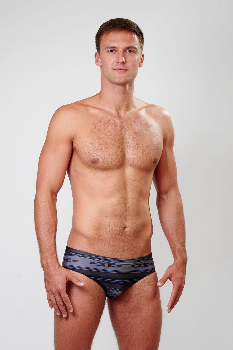 Плавки мужские Emdi, цвет: темно-коричневый, серый, черный, сине-сиреневый. 07-0814-200. Размер 44 купальник emdi emdi em012ewbgjh7