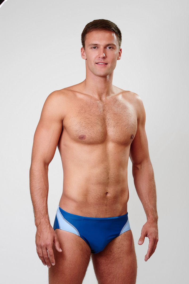 Плавки мужские Emdi, цвет: темно-синий. 07-0811-100. Размер 42