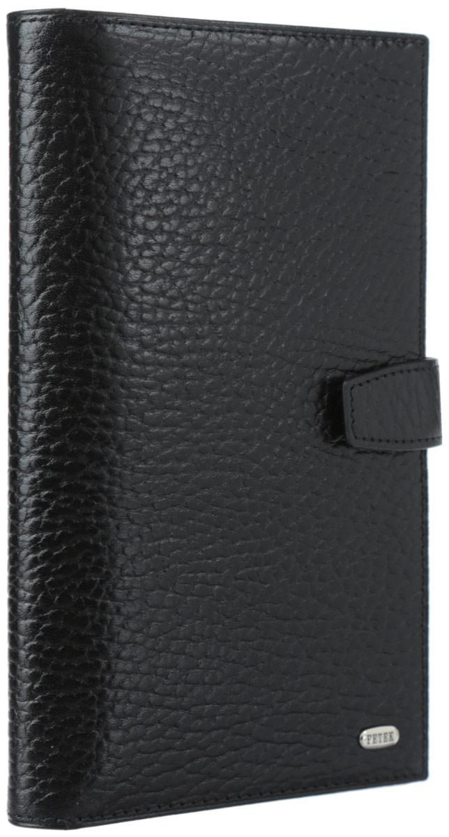 Бумажник путешественника Petek, цвет: черный. 557.46B.01